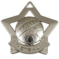 Mini Star Netball Medal</br>AM722S